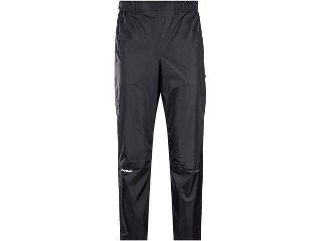 Berghaus Deluge Pantalones Hombre, black/black